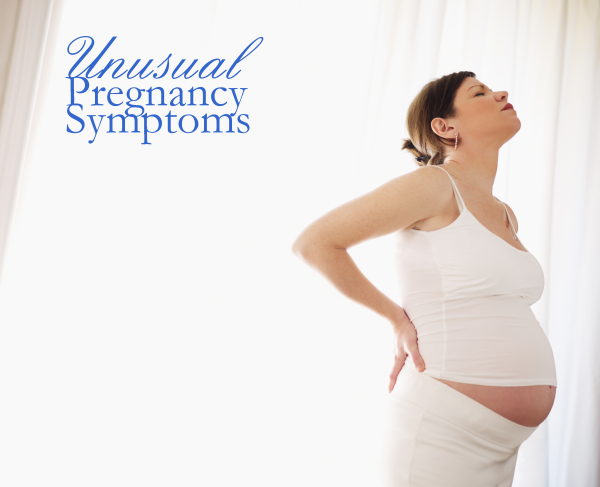 Unusual Pregnancy Symptoms