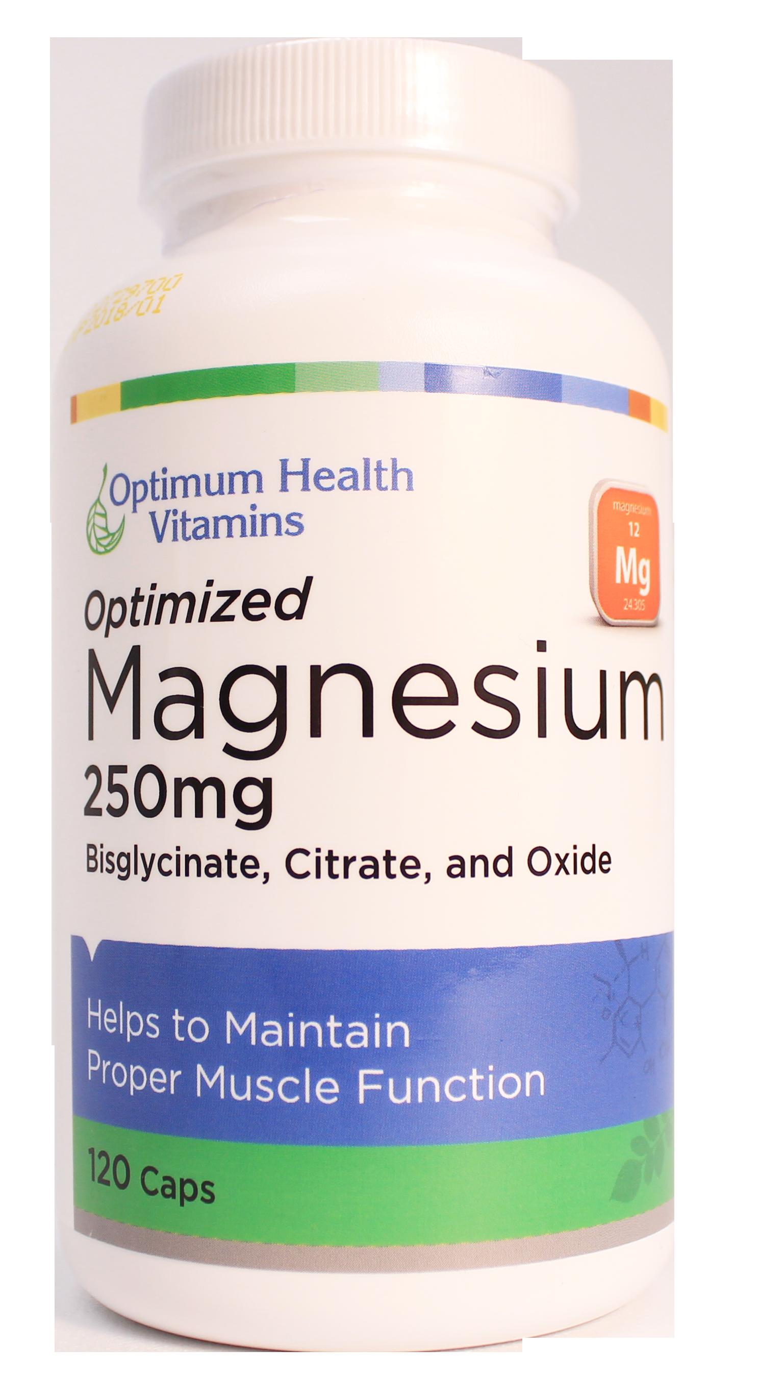 Optimum Health Vitamins Optimized Magnesium