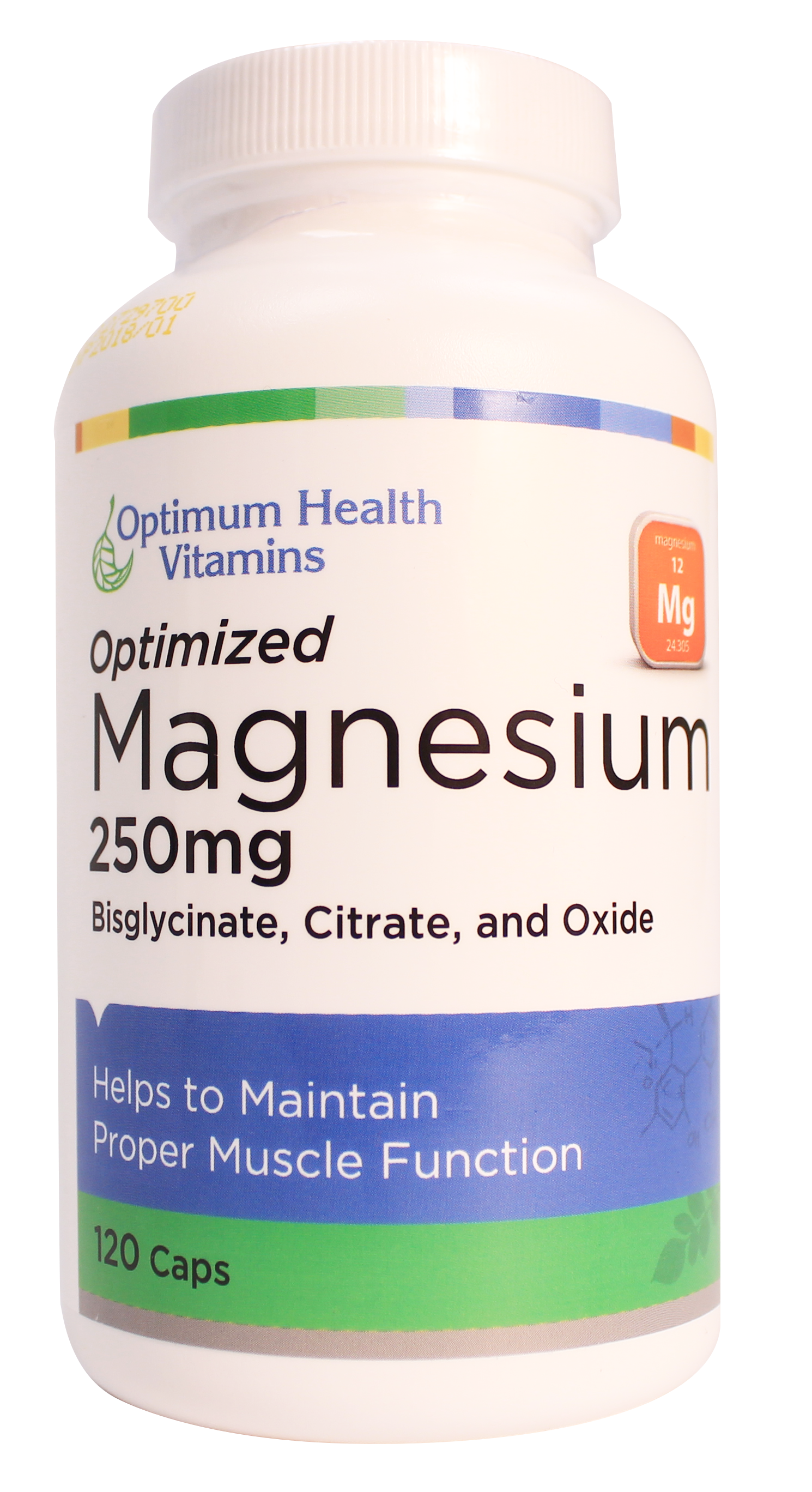 Optimum Health Vitamins Optimized Magnesium