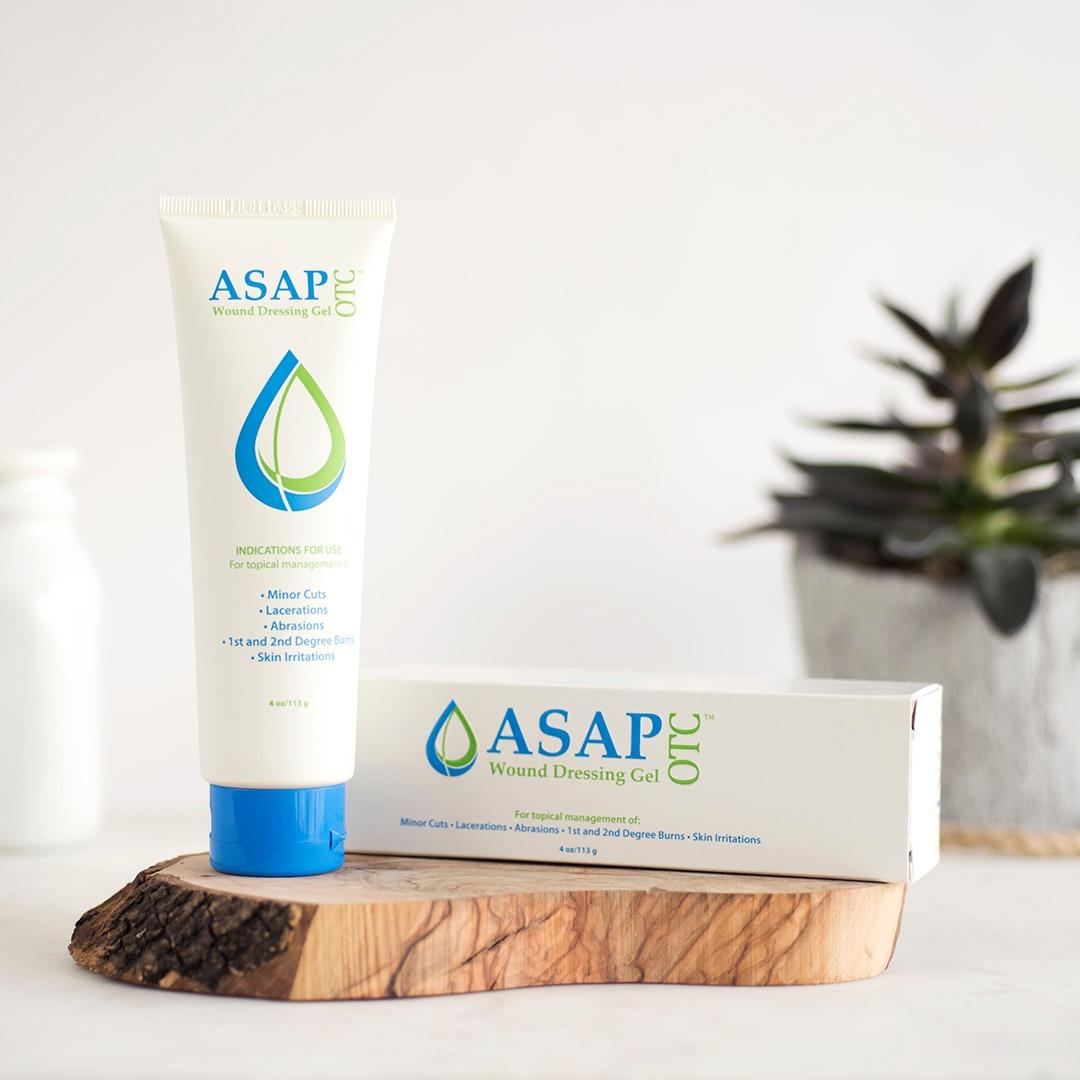 Skin Safe Mole Care With  ASAP OTC Wound Care Gel