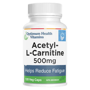 Acetyl-L-Carnitine 120 Capsules