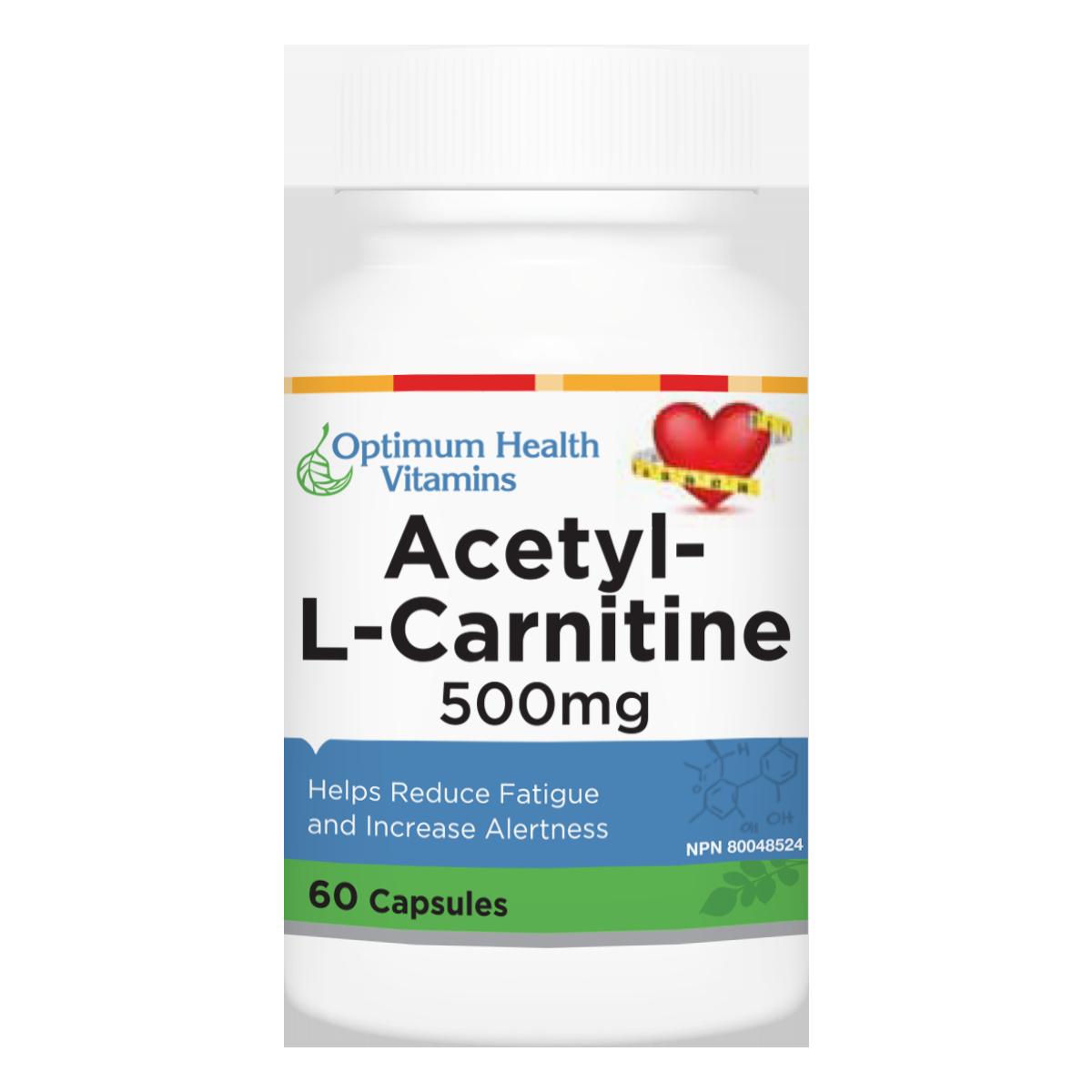 Optimum health Vitains Acetyl L Carnitine