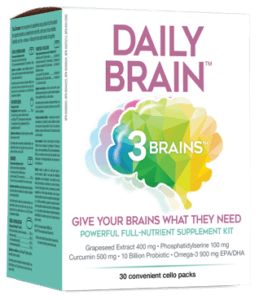 Dail Brain 3 Brains 30 cello packs