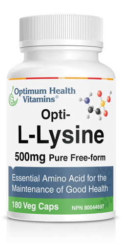 L-Lysine Optimum Health Vitamins