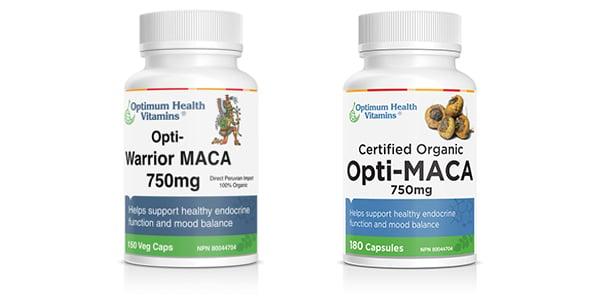 Certified Organic Maca