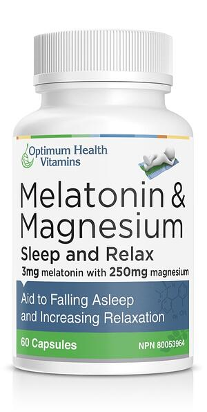 Melatonin & Magnesium for better sleep