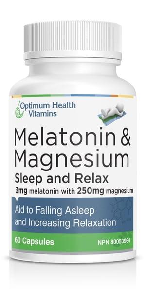 Melatonin & Magnesium for better sleep