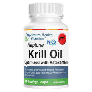 Neptune Krill Oil 180 Capsules