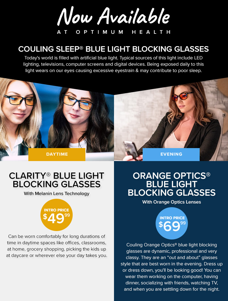 Couling Sleep Blue Light Blocking Glasses