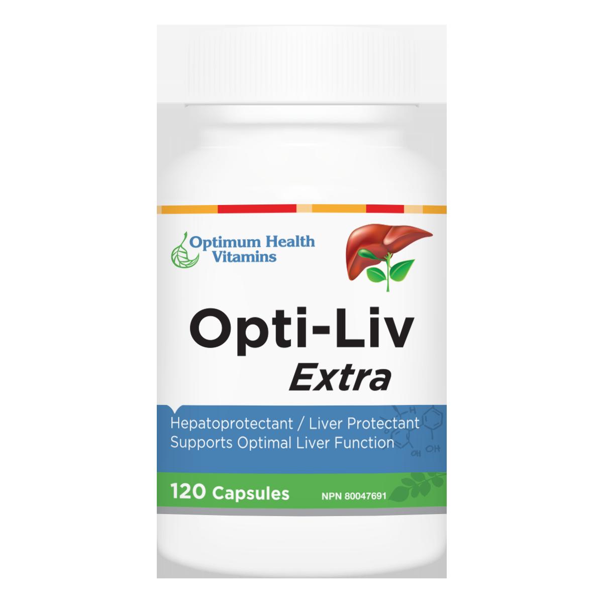 Optimum Health Vitamins Opti Liv Extra