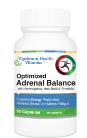Optimum Health Vitamins Optimized Adrenal Balance