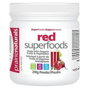 Prairie Naturals Red Superfoods with Organic Fruits & Vegetables