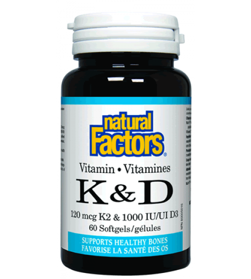 Natural Factors Vitamin K2
