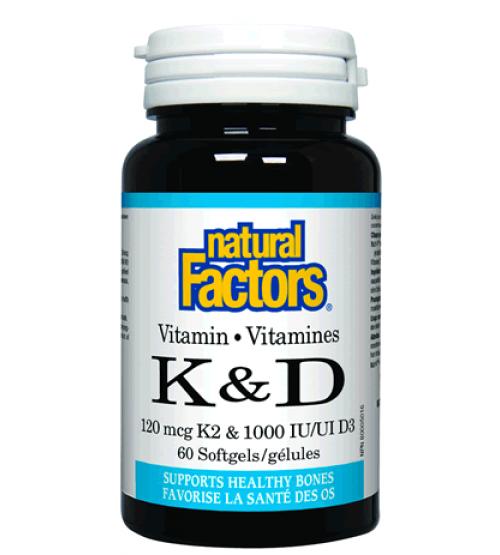 Natural Factors Vitamin K2