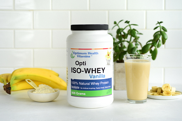 Health benefits of whey protein shakes