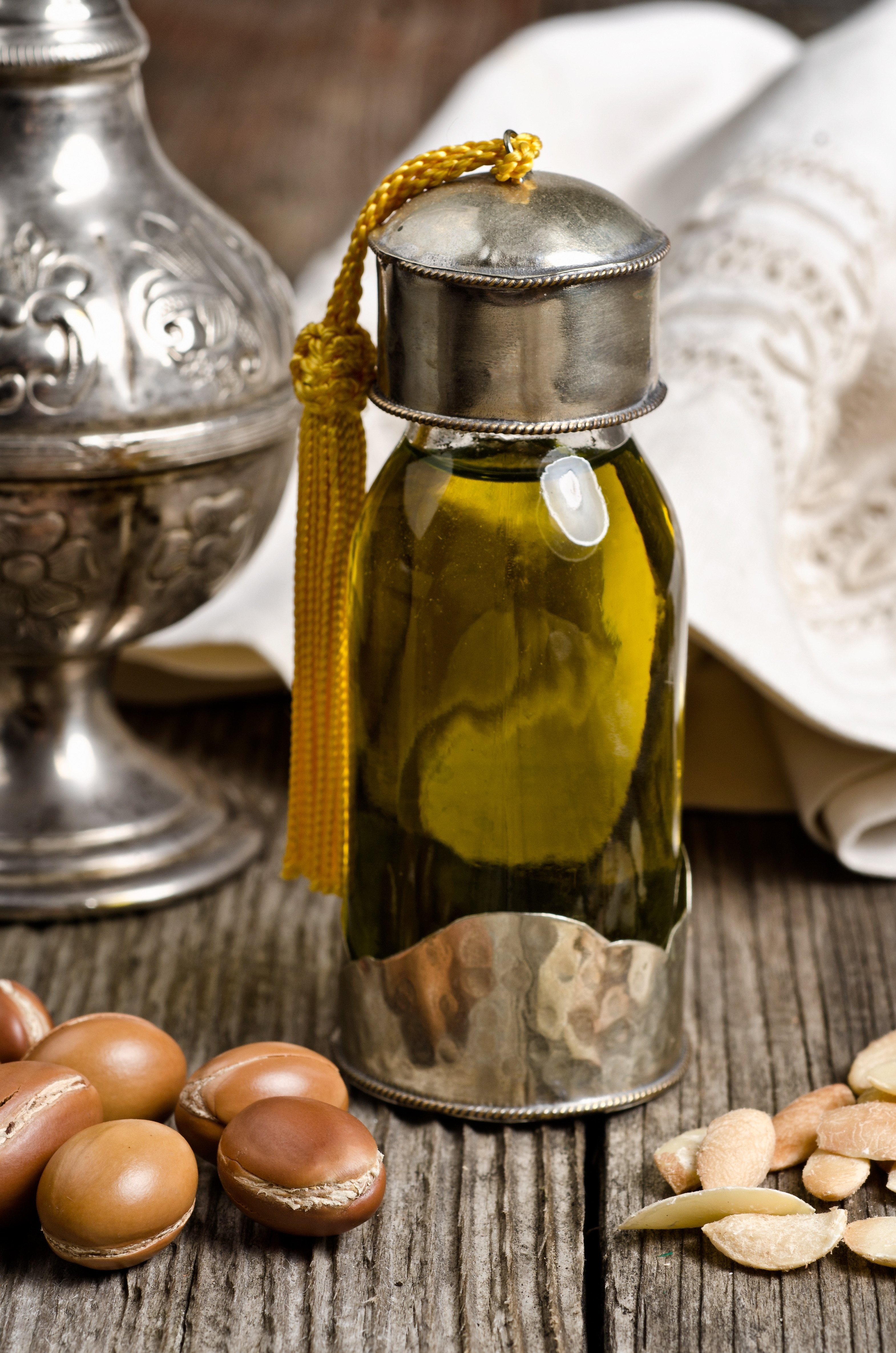 Argan oil for Haircare and skincare treatment